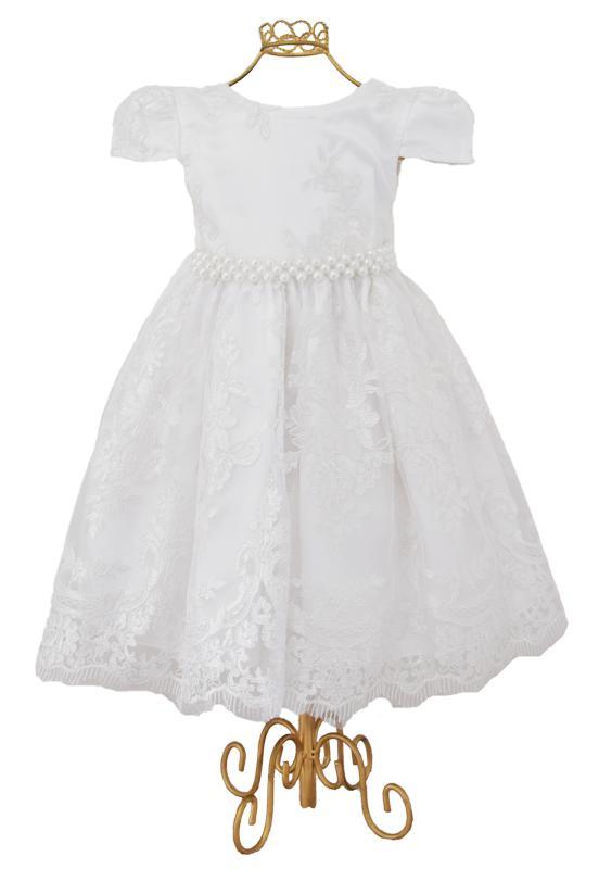 Vestido Rendado Luxo Branco