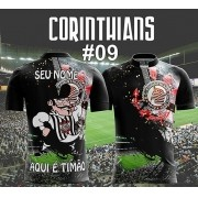 CAMISETA MASCULINA CORINTHIANS TIMÃO #09
