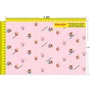 Tecido Temático - Cupcake 1,0x1,5 #14
