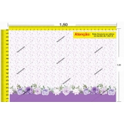 Tecido Temático - Floral 1,0x1,5 #179