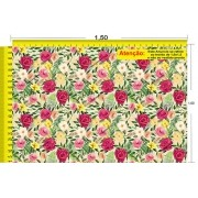 Tecido Temático - Floral 1,0x1,5 #25