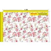 Tecido Temático - Floral 1,0x1,5 #39