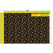 Tecido Temático - Floral Girassol 1,0x1,5 #202
