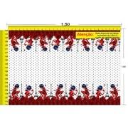 Tecido Temático - Ladybug 1,0x1,5 #200
