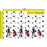 Tecido Temático - Ladybug 1,0x1,5 #43