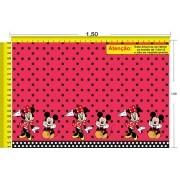 Tecido Temático - Minnie e Mickey Mouse 1,0x1,5 #74