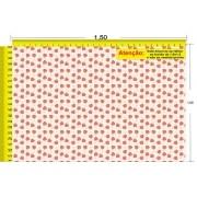 Tecido Temático - Morango 1,0x1,5 #145