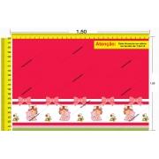 Tecido Temático - Moranguinho 1,0x1,5 #189