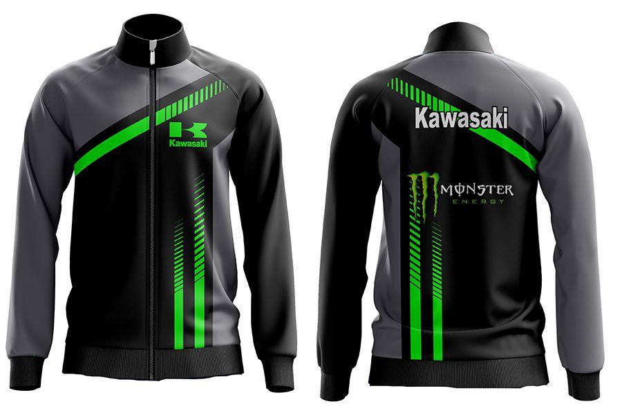 AGASALHO MASCULINO KAWASAKI #912