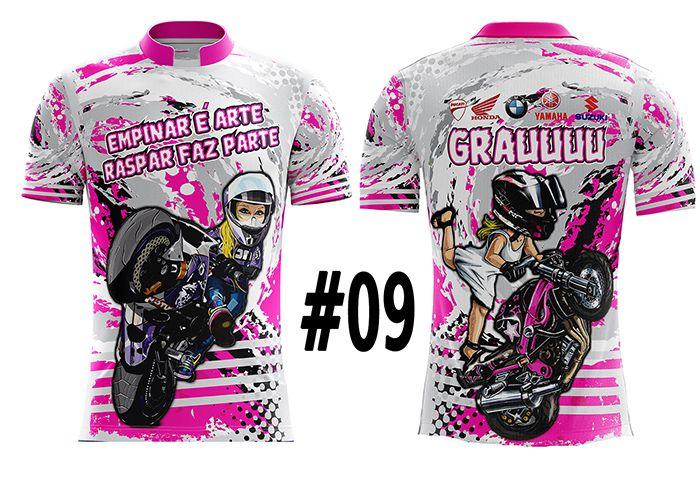 CAMISETA MASCULINA GRAU FAVELA PINK #09