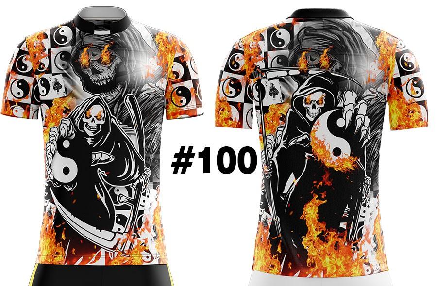 CAMISETA MASCULINA QUEBRADA FIRE MORTE DO FOGO #100
