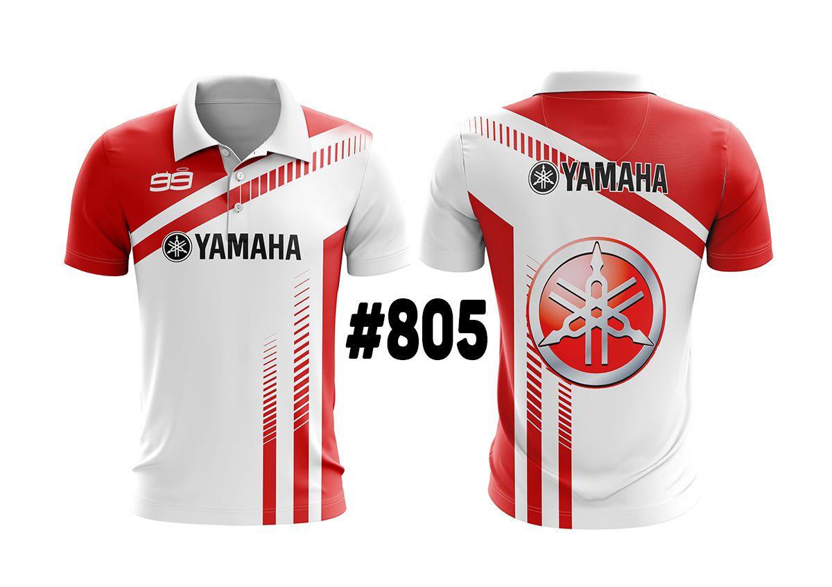 CAMISETA POLO MASCULINA YAMAHA #805