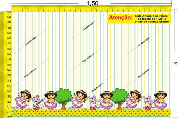 Tecido Temático - Dora 1,0x1,5 #18