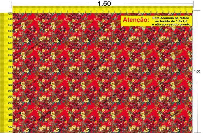 Tecido Temático - Floral 1,0x1,5 #28