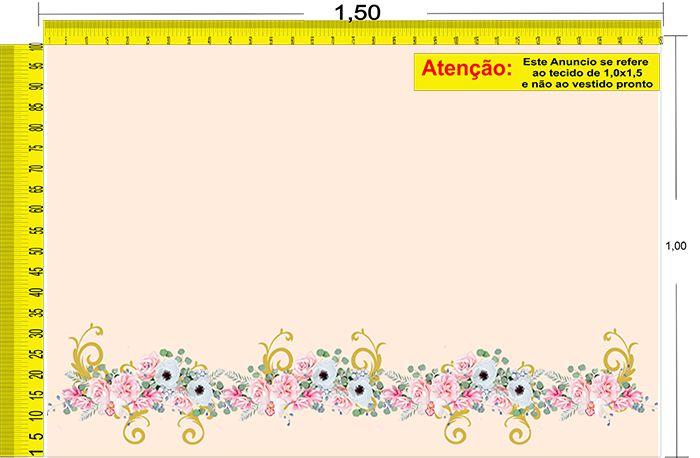 Tecido Temático - Floral 1,0x1,5 #30