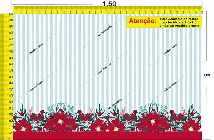 Tecido Temático - Floral 1,0x1,5 #32