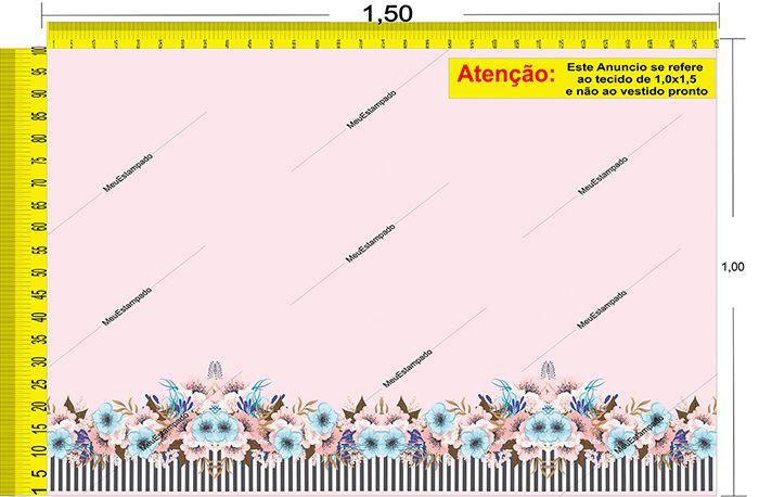 Tecido Temático - Floral 1,0x1,5 #33