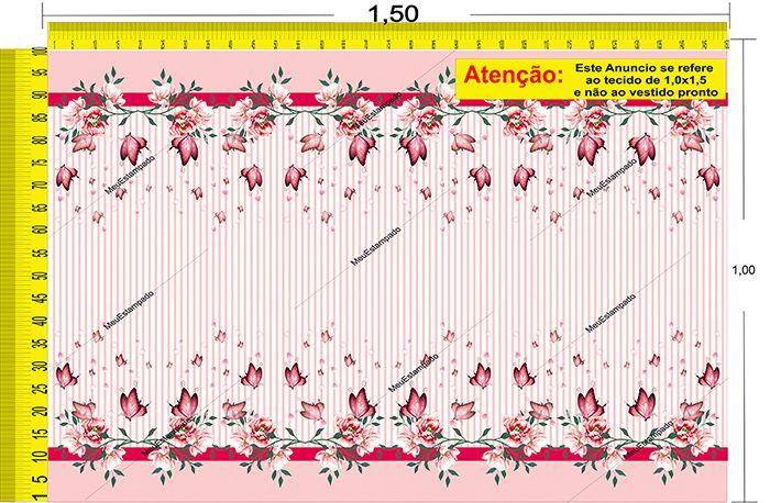 Tecido Temático - Floral 1,0x1,5 #36
