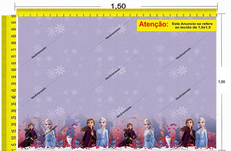 Tecido Temático - Frozen 1,0x1,5 #206