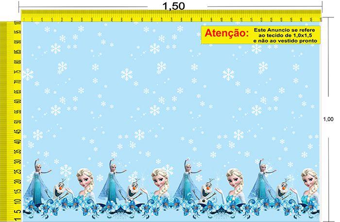 Tecido Temático - Frozen 1,0x1,5 #78