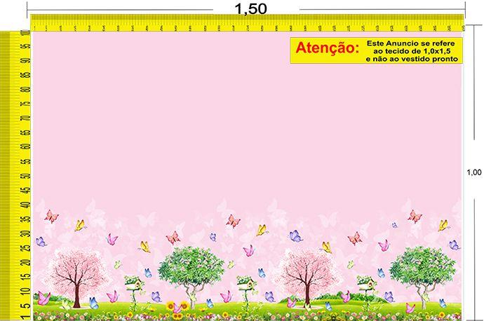 Tecido Temático - Jardim 1,0x1,5 #208