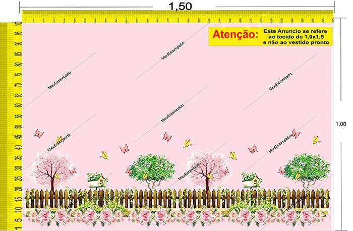 Tecido Temático - Jardim 1,0x1,5 #42
