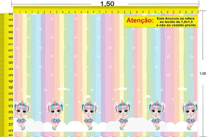 Tecido Temático - LOL 1,0x1,5 #53