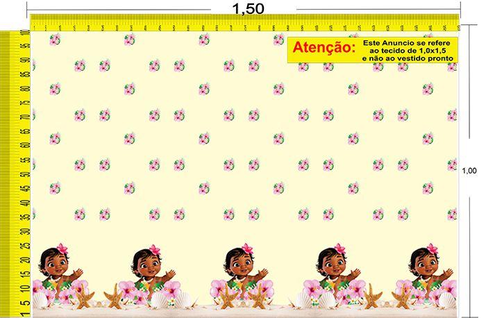 Tecido Temático - Moana 1,0x1,5 #88
