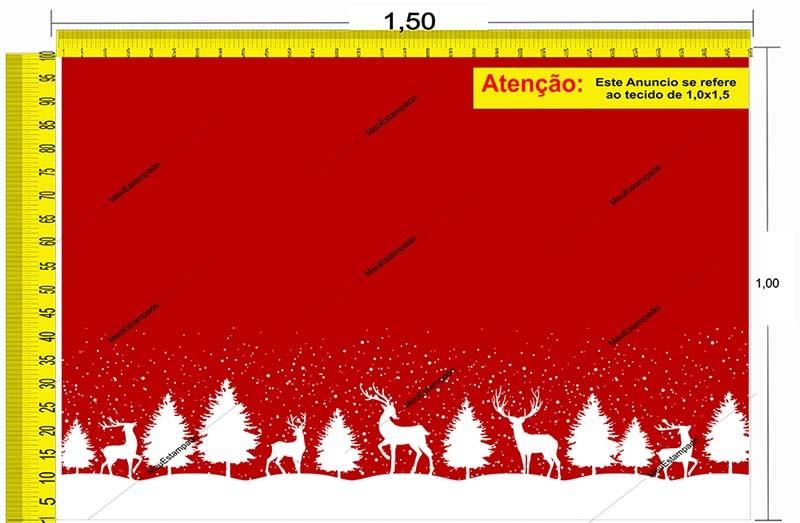 Tecido Temático - Natal 1,0x1,5 #131