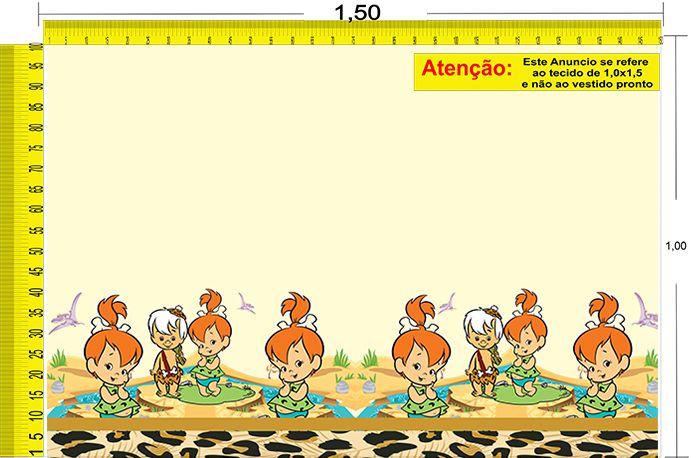 Tecido Temático - Os Flintstones: Pedrita 1,0x1,5 #117