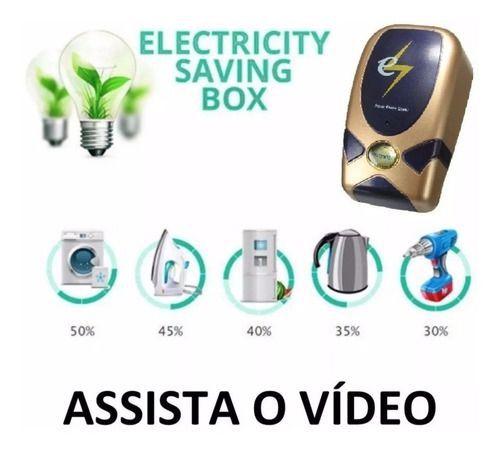 03 Save Box Aparelho Original Reduz Consumo Energia Elétrica