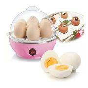 Ovos Cozidos Egg Cooker Cozedor Elétrico A Vapor Mult Função