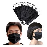 Kit 5 Máscaras Tecido Tnt Proteção Facial Lavável Resistente