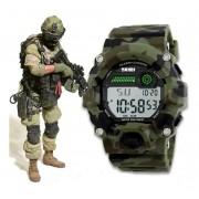 Relógio Masculino Skmei Militar Original Camuflado D'água Nf