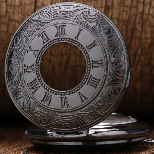 Relógio De Bolso Relíquia Clássico Vintage Retrô Antiguidade