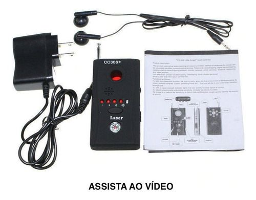 Detector De Câmeras Escondidas Proteja Privacidade Ver Vídeo