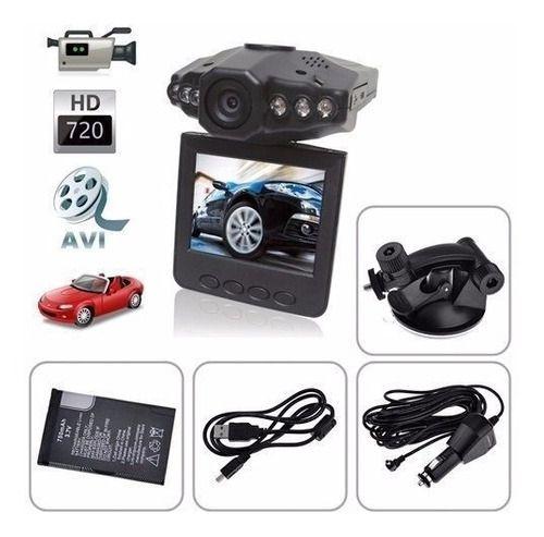 Câmera Segurança Automotiva Dvr Veicular Grava Vídeo Carro