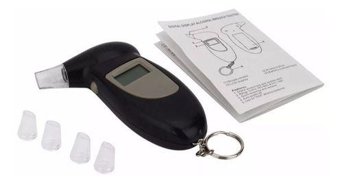 Bafômetro Medidor Álcool Digital Preciso Original Garantia