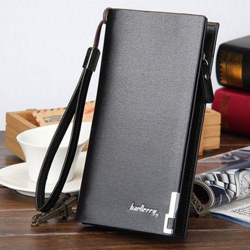 Carteira Baellerry Couro Executiva Bag Luxo Cartões Celular