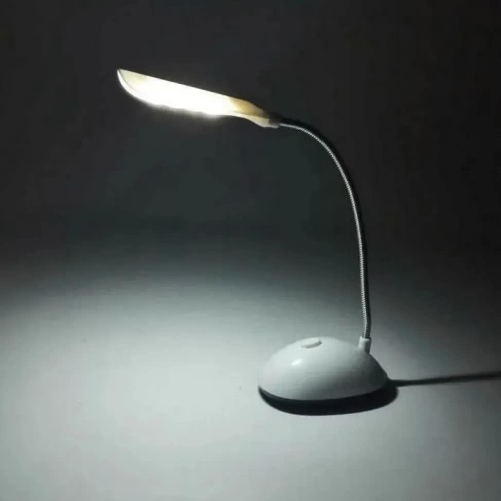 Abajur Sem Fio Luminária Articulada Mesa Escritório Estudo