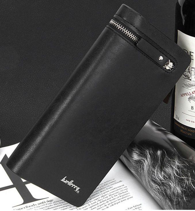 Carteira Baellerry Couro Luxo Bag Celular Masculina Feminina