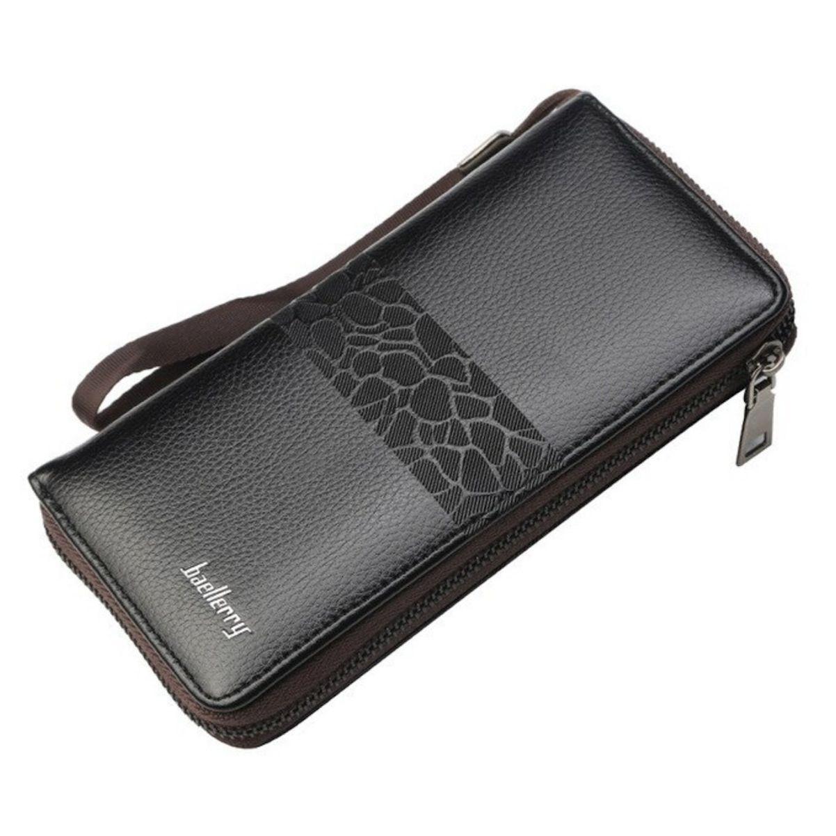 Carteira Executiva Couro Luxo Bag Celular Masculina Feminina