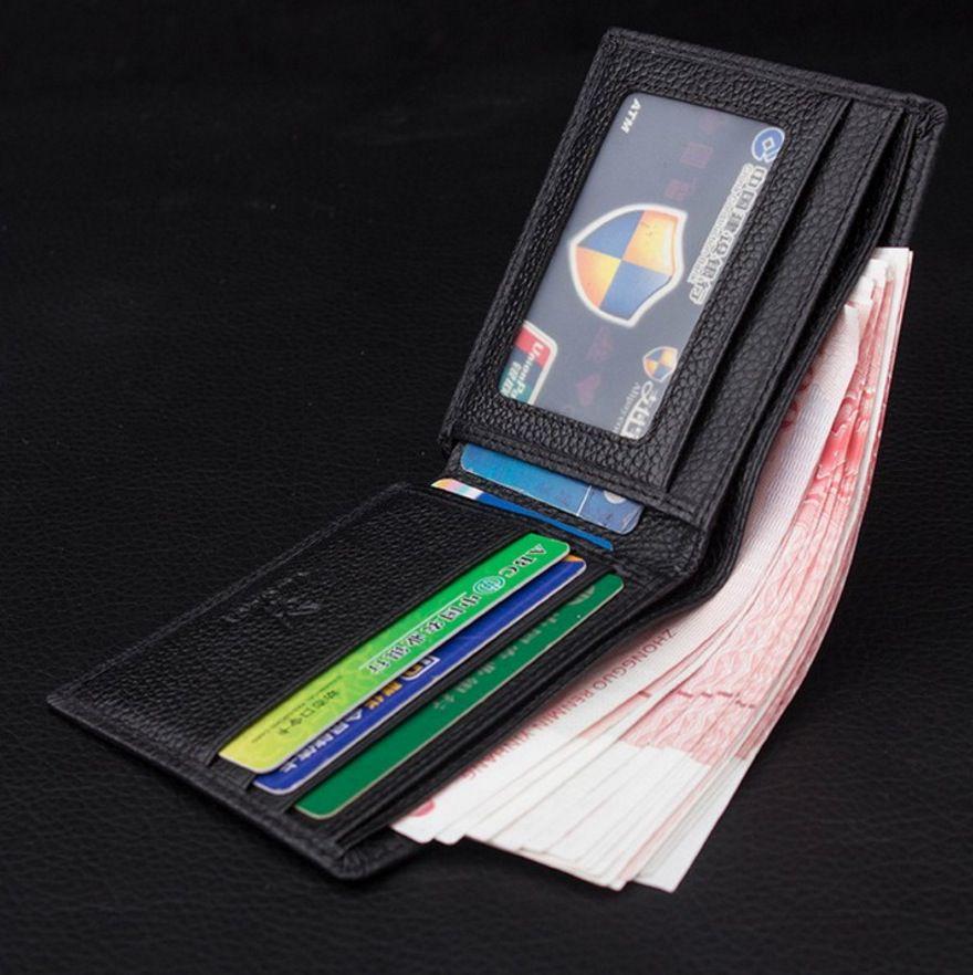 Carteira Masculina Executiva Couro PlayBoy Business wallet