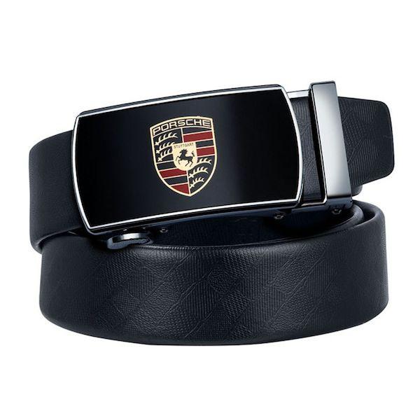 Cinto Executivo Masculino Couro Automático Porsche Original