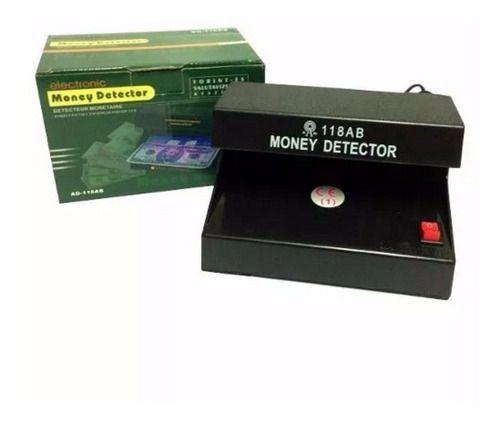 Detector Nota Falsa Luz Negra Uv Teste Cedulas Dinheiro Fake
