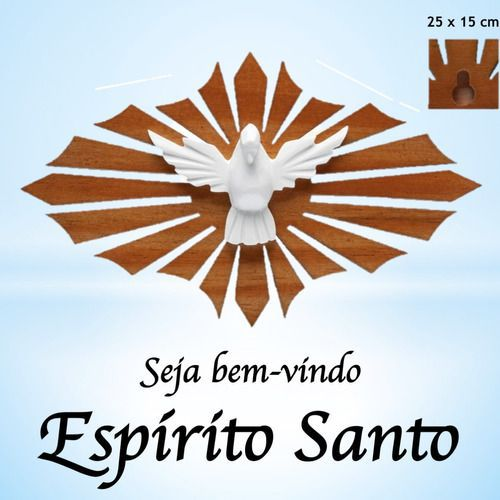 Divino Espirito Santo Resplendor De Madeira P Parede E Porta