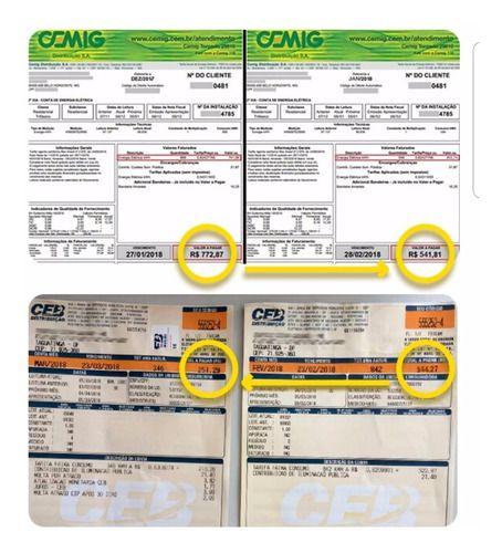 Kit 03 Saving Box Aparelho Redutor Consumo Energia Elétrica