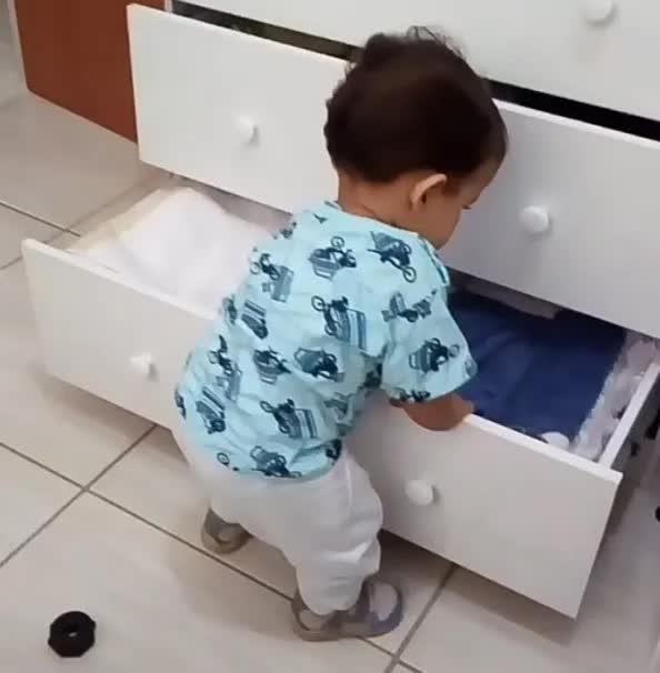 Kit 10 Trava Segurança Bebê Criança Gaveta Armário Geladeira