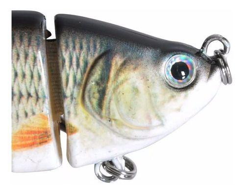 Lambari Artificial Isca real 3d Articulada Pesca Garantida