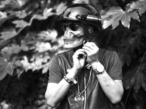 Máscara Caveira Skull Airsoft Paintball Moto Bike Meia Face